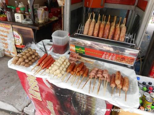 dove mangiare a bangkok street food