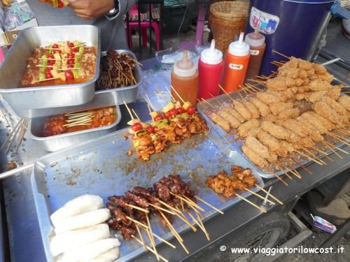 dove mangiare a Bangkok street food low cost