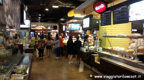 dove mangiare a bangkok alla food court Terminal 21