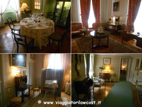 visita al Castello di Cheverny interni ed esterni
