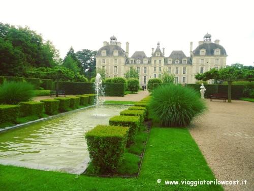 giardino degli apprendisti nel Castello di Cheverny