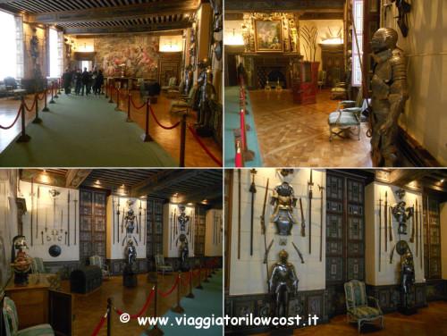 Sala delle Armi Castello di Cheverny Valle della Loira