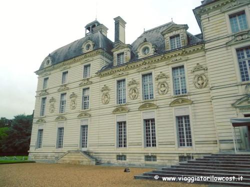 Castello di Cheverny nella Valle della Loira