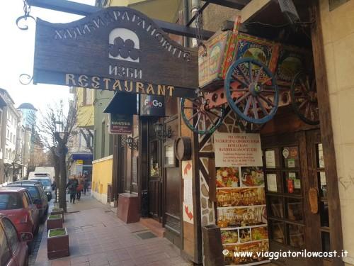 ristoranti di Sofia dove mangiare bene piatti bulgari