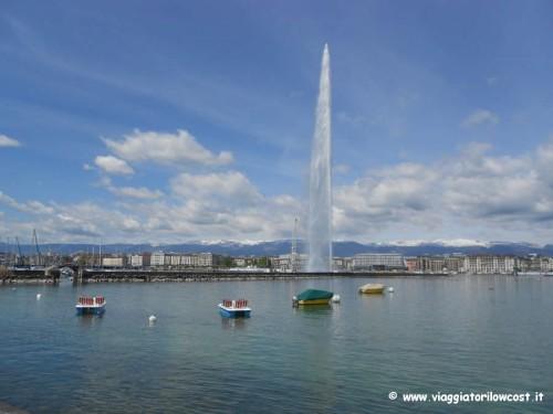 Ammirare lo Jet d'Eau è da fare a Ginevra