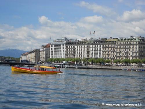Mouette un giro in barca da fare a Ginevra