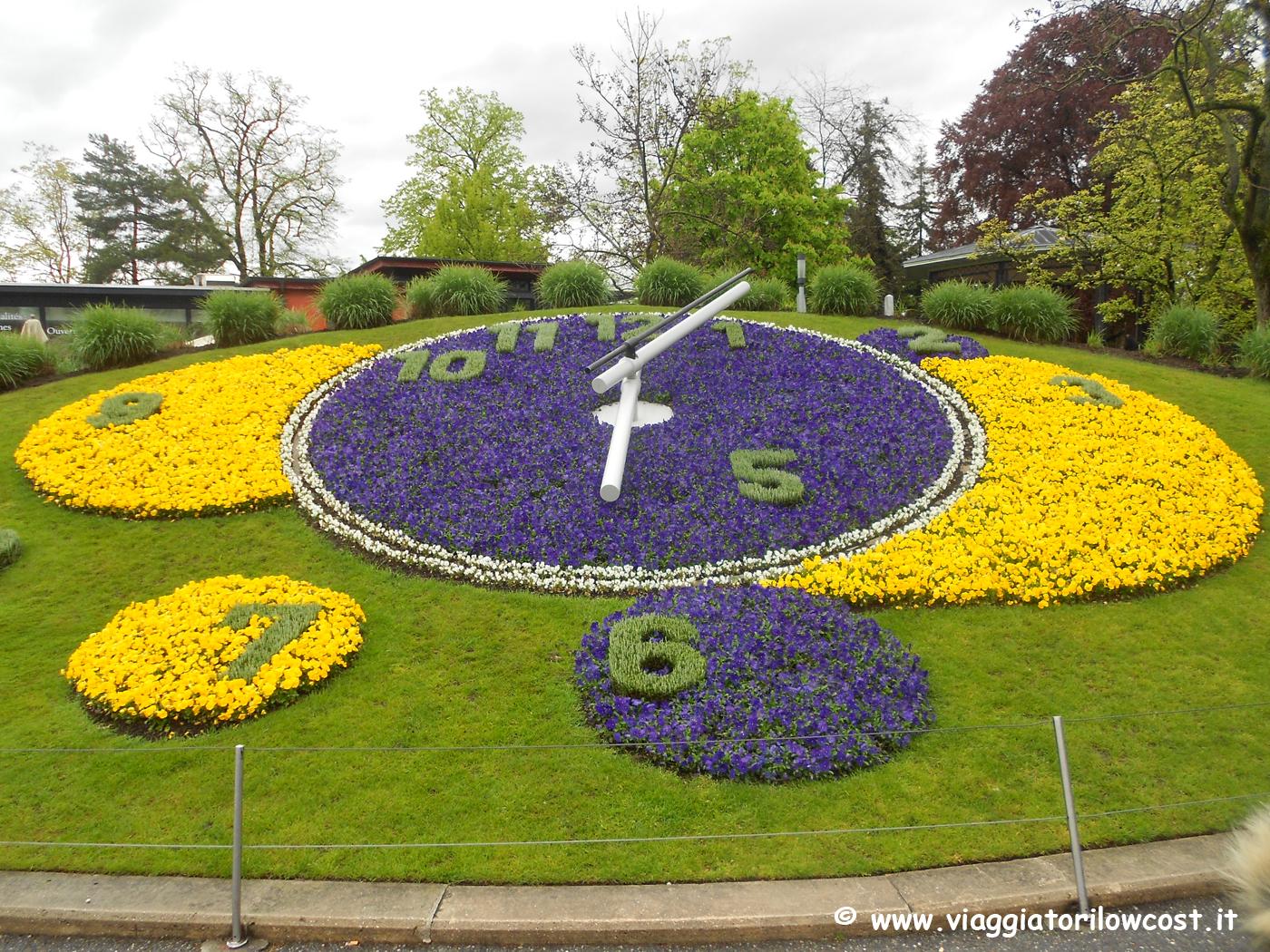 Scattare una foto con orologio fiorito di Ginevra cosa da fare