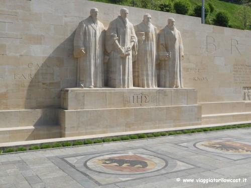 Cosa fare a Ginevra visitare Parco dei Bastioni