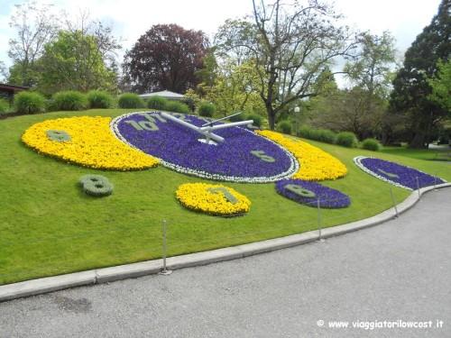 Visitare orologio fiorito di Ginevra cosa fare