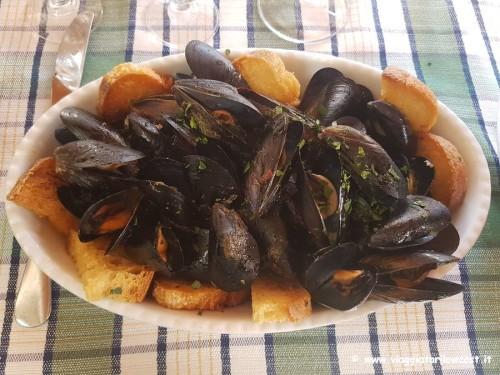 Trattoria da Rita Pozzuoli piatti a base di pesce