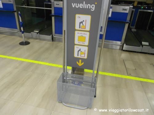 Come fare check-in online Vueling con bagagli