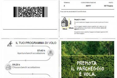 Stampa carte di imbarco Vueling check-in online