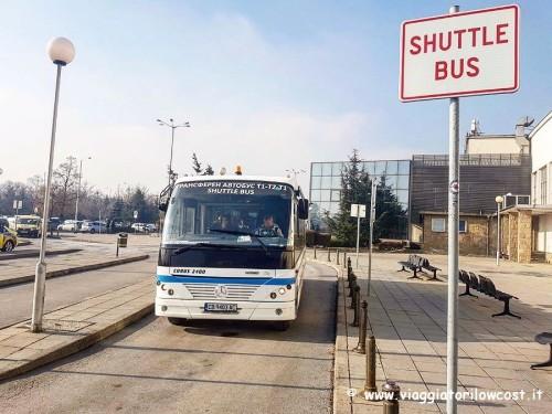 come andare dall'aeroporto di Sofia al centro città