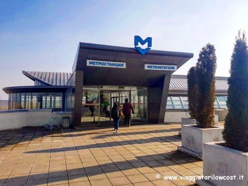 come arrivare a Sofia dall'aeroporto in metropolitana