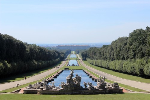 Visitare Caserta Parco Reale
