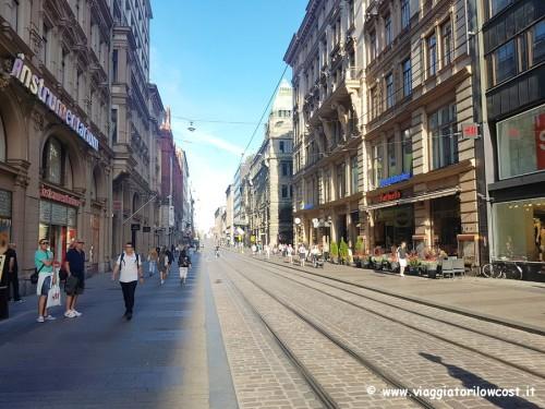 cosa comprare a Helsinki shopping in Aleksanterinkatu
