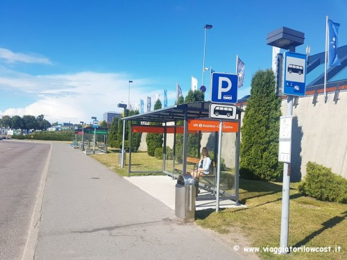 Come arrivare a Tallinn centro dall'aeroporto