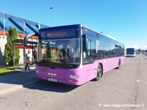 Come arrivare dall'aeroporto di Tallinn al centro città