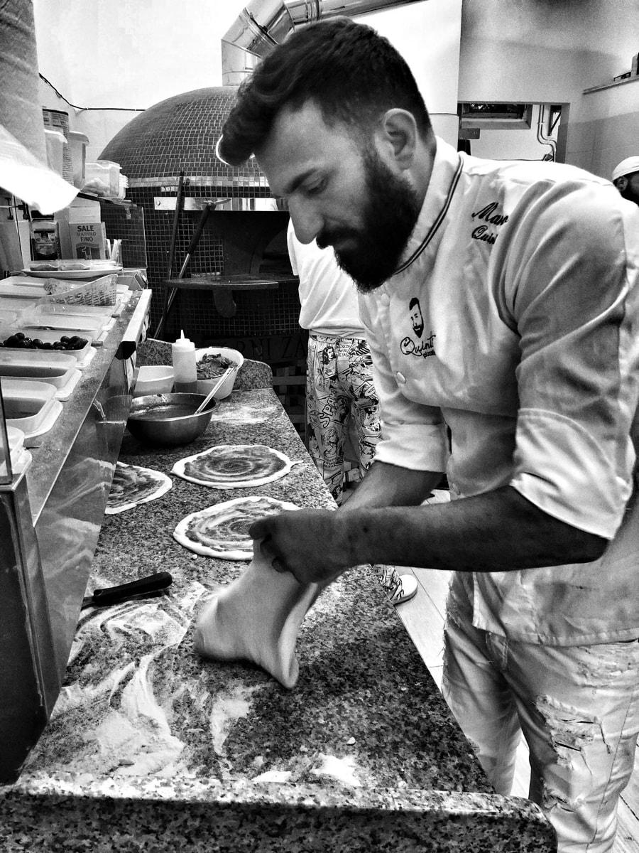 Marco Quintili è nelle migliori pizzerie di Roma