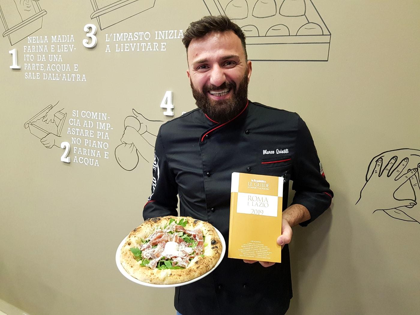 iQuintili Roma premio miglior pizzeria emergente Lazio 2019
